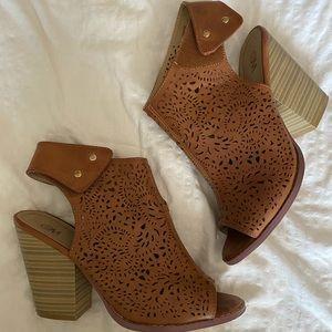 Shoes - Open Toe Booties